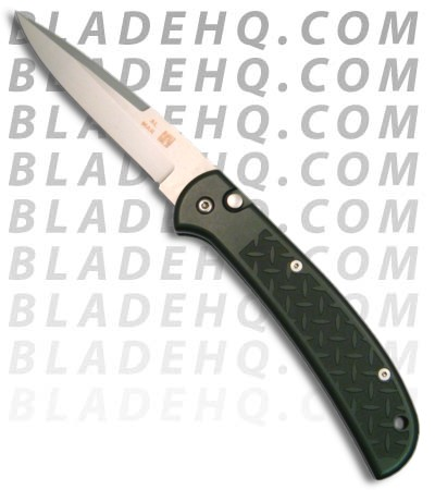 Al Mar Eagle Automatic Knife (Green / Silver PLN) EBL-M2