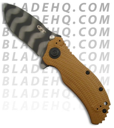 Zero Tolerance 0302 Assisted Opening Knife (Tiger Stripe)