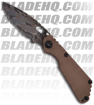 Strider Knives SnG DIGI Coyote G-10 Manual Folding Knife (Digi Camo PLN)