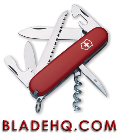 Victorinox Swiss Army Knife Camper Red 53301