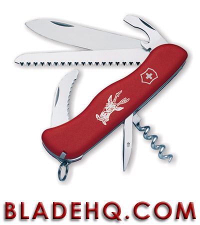 Victorinox Swiss Army Knife Hunter Lockblade Red 53641