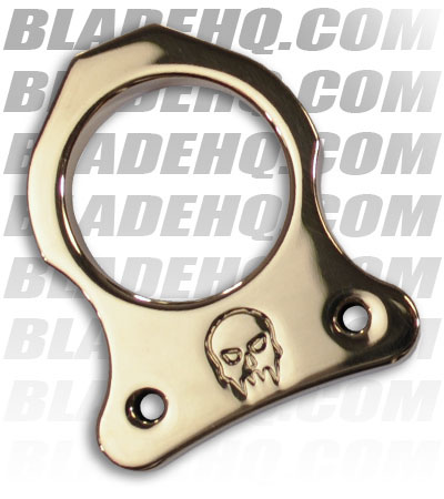 Woody Knuckles Single Shot Polished Brass Finger Knuckle