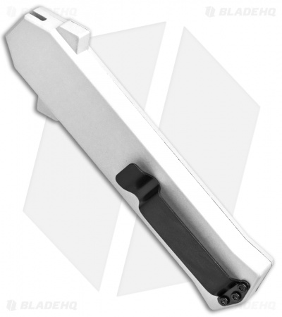 "AKC F-16 D/A Bayonet OTF Automatic Knife White (3.3"" Satin)"