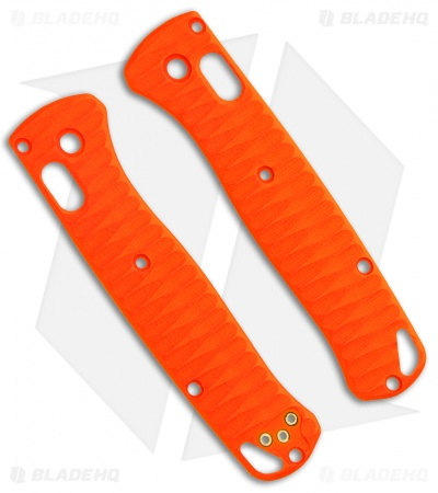 Allen Putman Benchmade Bugout Custom Sculpted G-10 Replacement Scales (Orange)