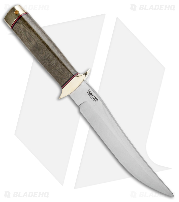 Bark River MACV-SOG Recondo Fixed Blade knife Green Linen Micarta (7 1