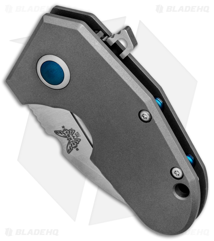 Benchmade 756 Micro Pocket Rocket Ti Monolock Flipper Blade Hq