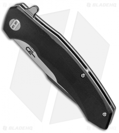"Bestech Knives Warwolf Liner Lock Knife Black G-10 (3.5"" Two-Tone)"