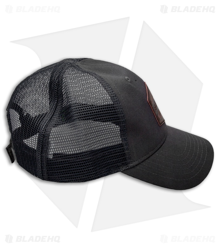 06e37c61f37 Blade HQ Mesh Gray Trucker Hat (Adjustable) - Blade HQ