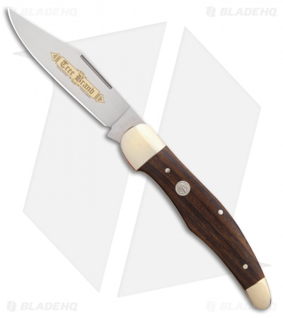 "Boker Hunter's Knife Classic Gold 5.25"" Desert Ironwood 114014"