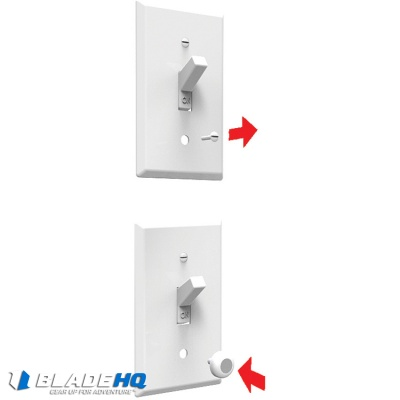 KeyCatch Magnetic Key Hanger System Light Switch Replacement