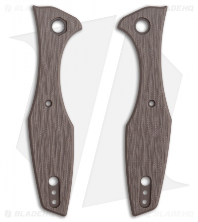 Karbadize  ZT 0393 Replacement Scales - Textured Brown G-10