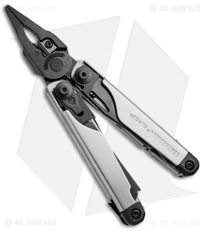 how to close a leatherman surge