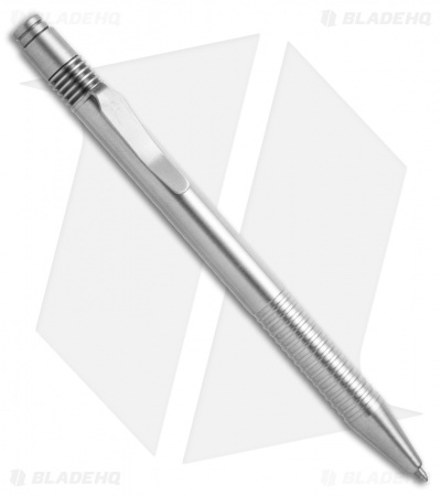 Matthew Martin Tactical 375 Series Stainless Steel/Ti Click Pen