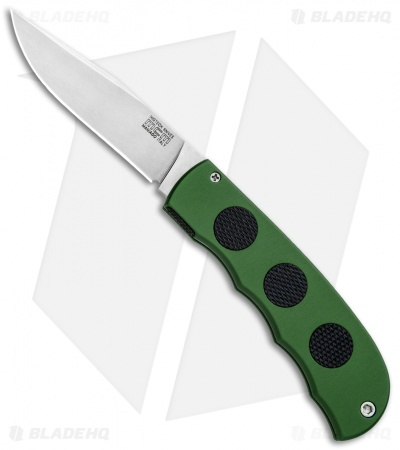 "MCM HighTech Hidden Release Automatic Knife Green (3.25"" Stonewash)"