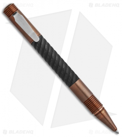 Matthew Martin Tactical 500 Series Pen (Machined CF/Copper) 500CuCF-S