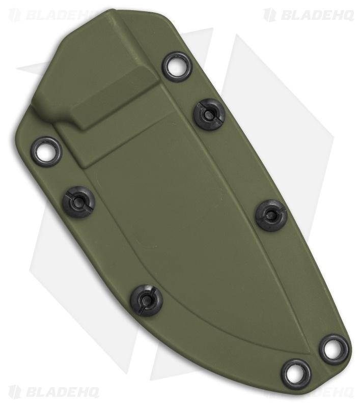 Ontario OKC Rat 3 OD Green Kydex Belt Sheath W/ TekLok