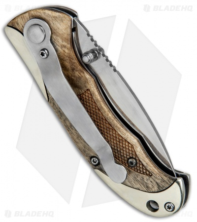 "Schrade Old Timer Ironwood Spring Assisted Knife (2.75"" Satin) 1084273"