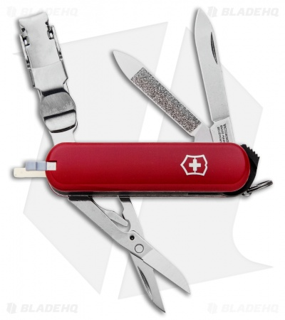 Victorinox Nail Clip 580 Swiss Army Knife Red 0.6463