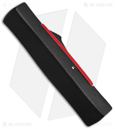 "AKC Minion Concord OTF Automatic Knife Black/Red (2.3"" Black Flat Grind)"