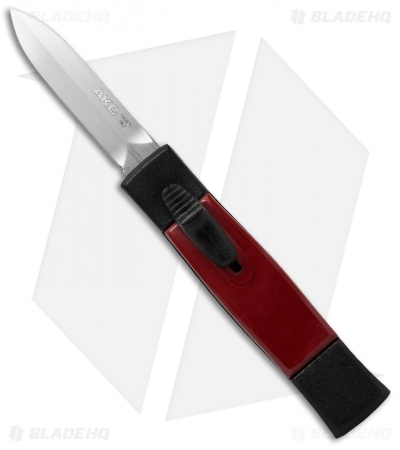 "AKC Minion Concord OTF Automatic Knife Black/Red (2.3"" Satin Dagger)"