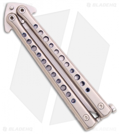 DDR Darrel Ralph Custom Holy Moley Butterfly Balisong Knife (Rehawk Blade)