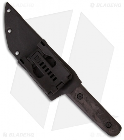 "Duane Dwyer Custom Fixed Blade Tanto Knife (5.25"" Black)"