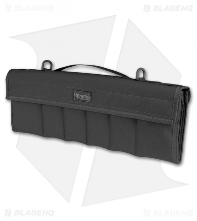 Maxpedition Dodecapod 12-Knife Carry Case Black Storage Pouch 1461B
