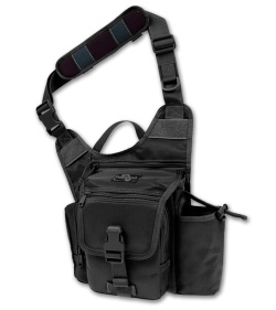 Maxpedition Fatboy G.T.G. S-Type Versipack Black Shoulder Sling Pack Bag 9855B