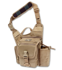 Maxpedition Fatboy G.T.G. S-Type Versipack Khaki Shoulder Sling Pack Bag 9855K