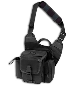 Maxpedition Fatboy G.T.G. Versipack Black Shoulder Sling Pack Bag 9853B
