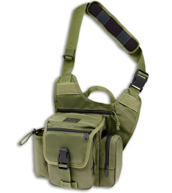 Maxpedition Fatboy G.T.G. Versipack OD Green Shoulder Sling Pack Bag 9853G