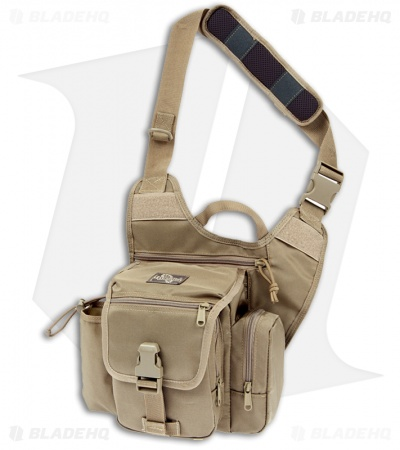 Maxpedition Fatboy G.T.G. Versipack Khaki Shoulder Sling Pack Bag 9853K