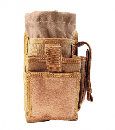Maxpedition H-1 Waistpack Khaki Hybrid Sheath/Pocket Bag 0316K