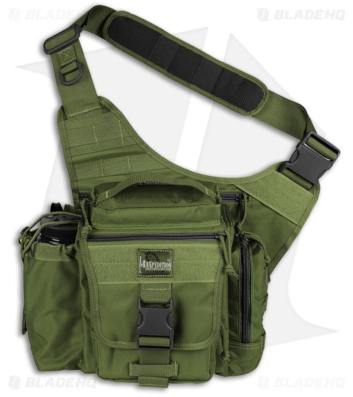 Maxpedition OD Green Jumbo E.D.C. Versipack Shoulder Sling Pack ...