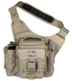 Maxpedition Khaki Jumbo E.D.C. Versipack Shoulder Sling Pack Bag 9845K