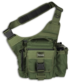 Maxpedition OD Green Jumbo E.D.C. S-Type Versipack Shoulder Sling Pack Bag 9851B