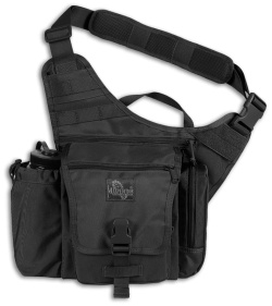 Maxpedition Jumbo K.I.S.S. Versipack Black Shoulder Sling Pack Bag 9849B