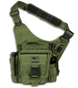 Maxpedition OD Green Jumbo L.E.O. Versipack Shoulder Sling Pack Bag 9846G