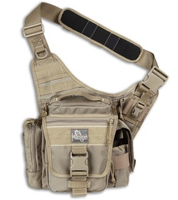 Maxpedition Khaki Jumbo L.E.O. Versipack Shoulder Sling Pack Bag 9846K