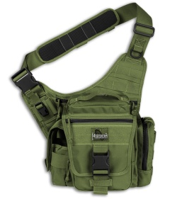 Maxpedition OD Green Jumbo L.E.O. S-Type Versipack Shoulder Sling Pack Bag 9852G