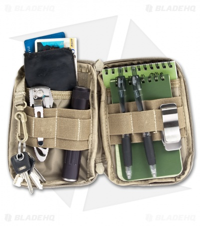 Maxpedition Mini Pocket Organizer Khaki Bag 0259K