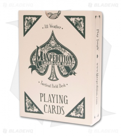 Maxpedition Playing Cards Tactical Field Deck All Weather