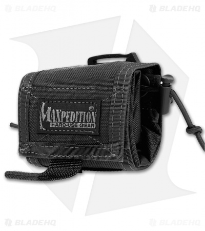 Maxpedition Rollypoly Folding Backpack Black 0230B