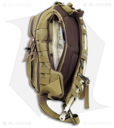 Maxpedition Sitka Gearslinger Black Shoulder Utility Pack Hydration Bag 0431B