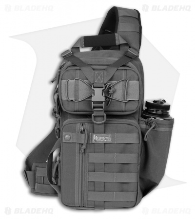 Maxpedition Sitka S-Type Gearslinger Black Utility Pack Hydration Bag 0467B
