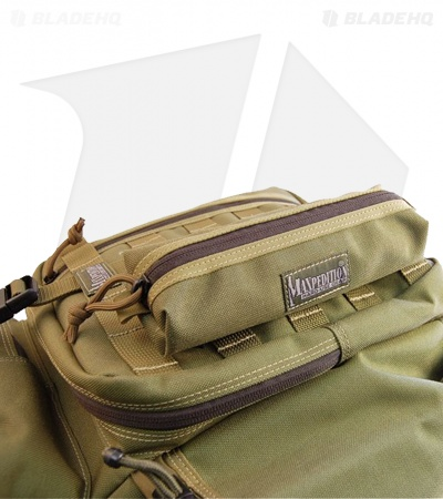 Maxpedition Cocoon Pouch Foliage Green Utility Case w/ Zipper 3301F