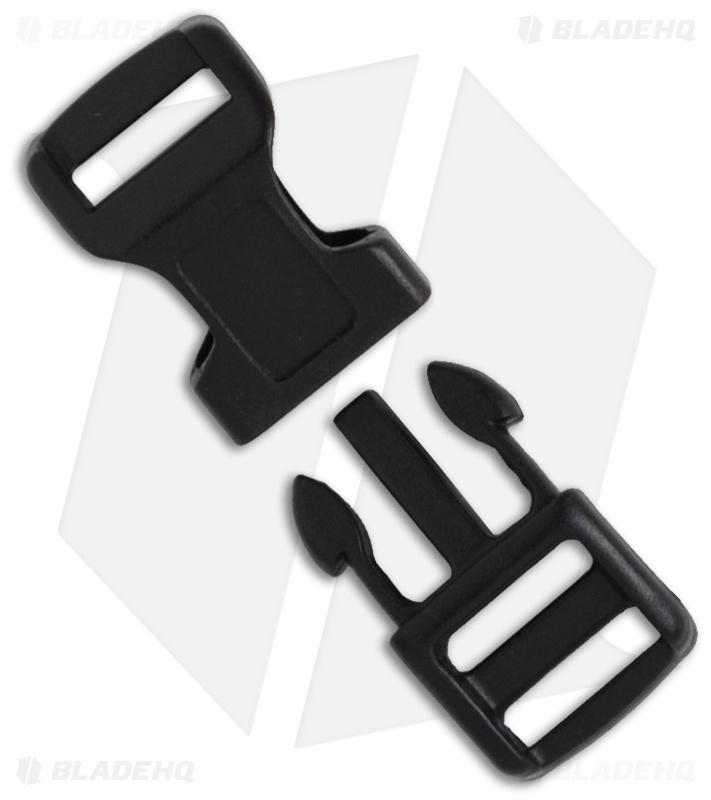 Knot Boys Snap Lock Buckle For Paracord Survival Bracelet 5 8 Black