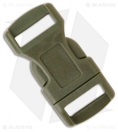 "Knot Boys Snap Lock Buckle for Paracord Survival Bracelet (5/8"" OD Green)"