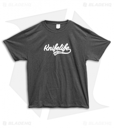 "Blade HQ ""Knife Life"" Gray Short T-Shirt"
