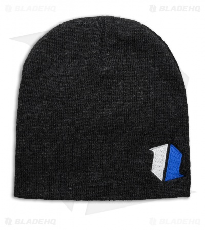 Blade HQ Shield Logo Charcoal Gray Beanie